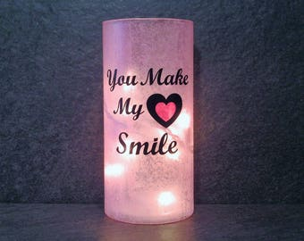 You Make My Heart Smile Light, Valentine's Gift