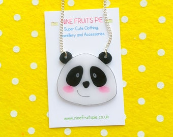 Giant Kawaii Panda necklace
