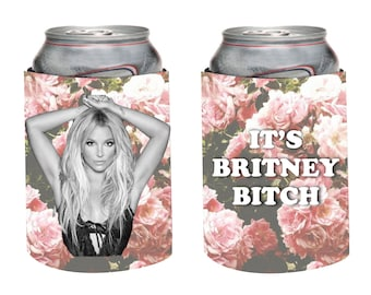 CUSTOM Britney Spears Can Cooler