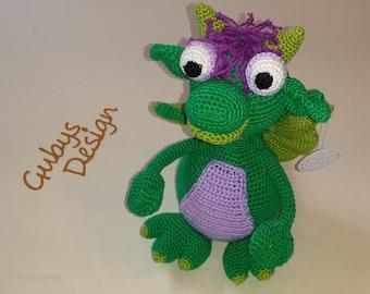 "Crochet Dragon ""Charly"""