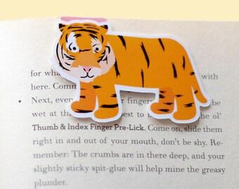 Tiger Magnetic Bookmark (Jumbo)