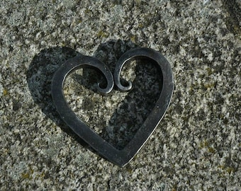 Hand Forged Decorative Heart