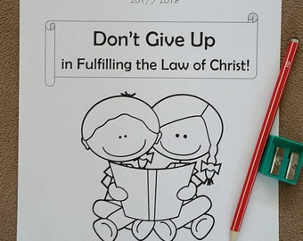 3-5yo Circuit Assembly JW Don't Give Up in Fulfilling the Law of Christ with Branch Representative 2017/18