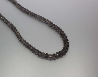 Scapolite Faceted Rondelle Beads 5.5 to 8.5 mm AA Necklace for Women