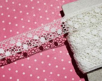 Antique Lace Vintage Lace Cotton Lace Polka Dots