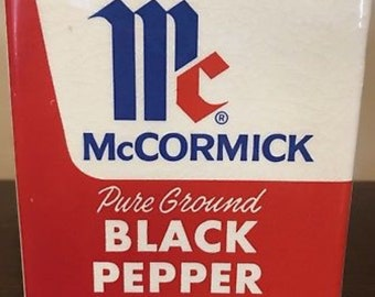Vintage McCormick Black Pepper Planter