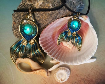 Mermaid Jewelry - Necklace (2 sizes available)