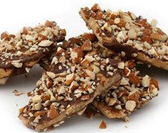 Soft Walnut English Butter Toffee