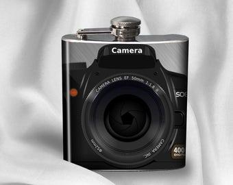SALE! Hip Flask -  Camera-  - Cyber Monday