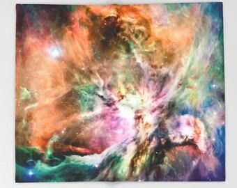 Orion Nebula Throw Blanket, Outer Space Decor, Home Decor