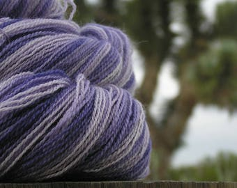 Lace Weight Yarn - BFL Wool and Silk - YOU name it