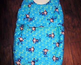 Custom Made to Order Infant Swaddle Wrap