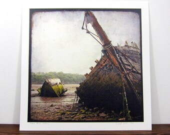 Boat #6 - Brittany - expo 30x30cm print - signed and numbered