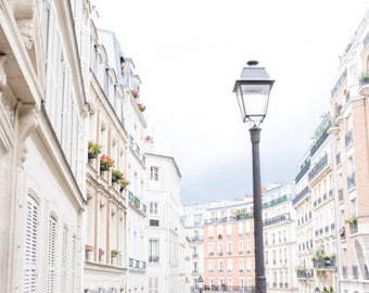 Paris Photograph, Montmartre Paris, Charming Paris Photo, Paris Village Photo, French Decor