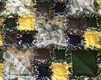 Ragtime Quilt, Free Shipping