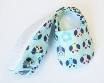 Owl Baby Booties, Baby Girl slippers, Baby Slippers, Owl Baby Crib Shoes, Owl Baby Moccs, Owl Baby Shoes, Animal Slippers, Owl Baby Slippers