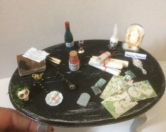 Large vampire table 1/12 scale