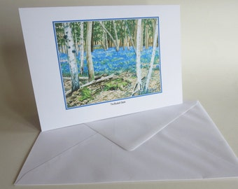 SPECIAL OFFER - Bluebell Greetings Card