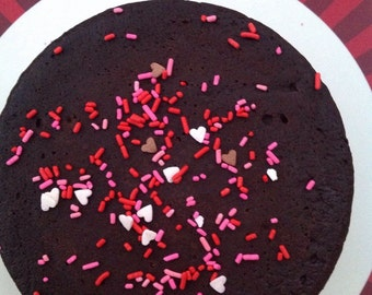 Triple Chocolate Port Cake