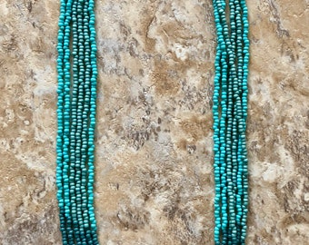 Multi Strand Seed Bead Necklace