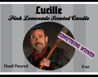 Walking Dead Negan Inspired Candle
