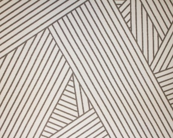 "Gray White Stripe Print #465 4 Way Stretch Swimwear Activewear Cosplay Nylon Spandex Lycra Apparel Craft Fabric 58""-60"" Wide By The Yard"