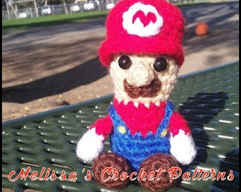 Crochet Pattern - Little Mario