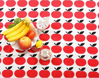 Red Apples Cotton Fabric - By the Yard 53947
