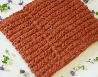 Textured Cowl, Crocheted Cowl, Cowl, Chunky Cowl,