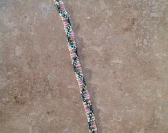 Vintage seedbead bracelet