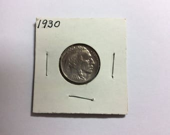 1930 Buffalo Nickel