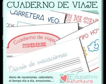 Cuaderno de viaje para niños -español-