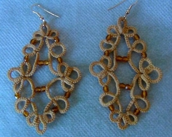 French Renaissance style earrings