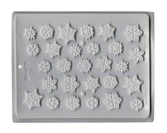 Snowflake Chocolate Mold - Christmas Winter - Baking Candy Making Party Supplies
