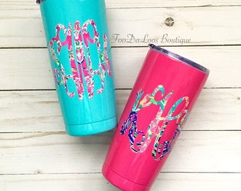 Personalzied Tumbler, Monogrammed Tumbler, Monogrammed Cup, Personalized Gift