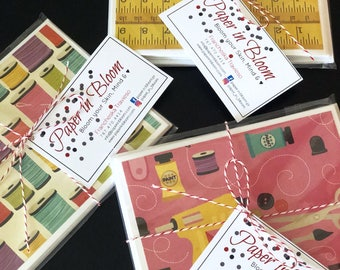Crafters are going to Craft / Stationery / Cards set / Set of 3