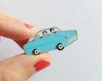 Harry Potter Ford Anglia Pin