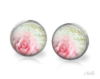 Ear studs of pastellener cherry blossom 14
