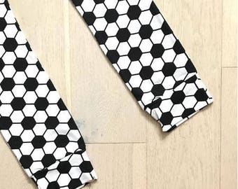Football Baby & Toddler Leggings – Made to Order 0 Months - 4 Years
