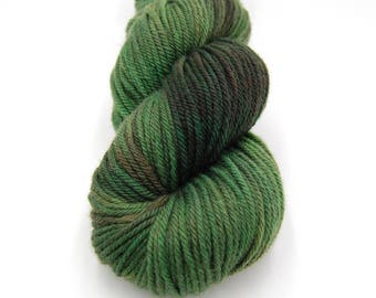 OOAK #2, Merino Worsted Hand Dyed Yarn