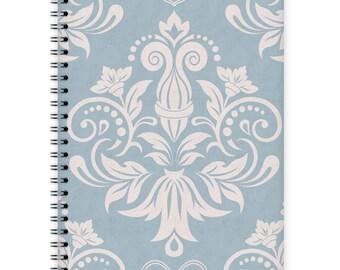 Notebook A5 - Damask Pattern