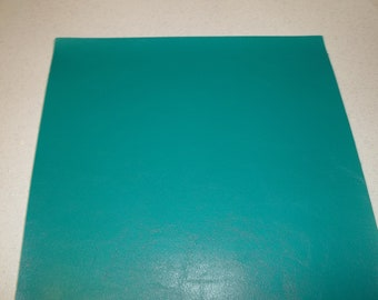 GreenFaux Leather Sheet - DIY - Vinyl sheet - Hair Bows - Headbands - Hair Clips - Embroidery, Journal Covers, Jewelry, coin purses