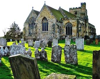 English Church St. Mary's Goudhurst Kent England Fine Art Photograph