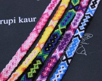Tribal Friendship Bracelet, Friendship Bracelet, Woven Bracelet, Knotted Bracelet, Aztec Bracelet, Arrow Bracelet, Best Friend Bracelet