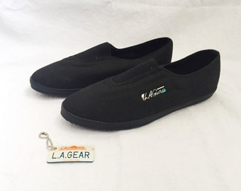 LA Gear Sneakers Work Out Slip On Women's Size 7.5 Deadstock 1990s