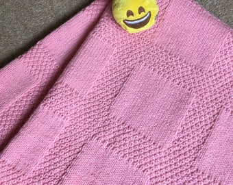 Beautiful Blanket for a Baby Girl, Large
