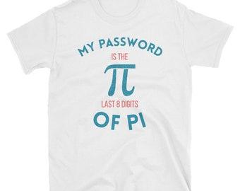 my password is the, last 8 digits of pi, pi shirt, pi, digits of pi