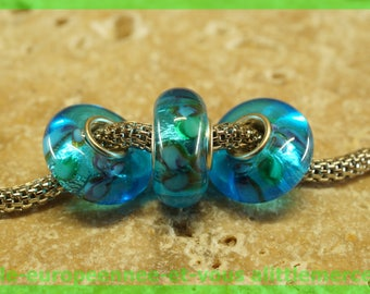 Has HQ1005 European glass bead for bracelet necklace charms