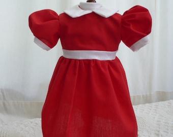 Little Orphan Annie Dress for American Girl Doll