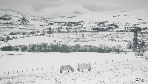 St Sunday Crag from Great Mell Fell [Photographic Print]